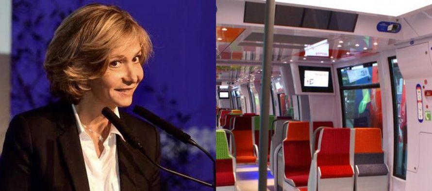 Mantes-la-Jolie : Valérie Pécresse (LR) annonce l'arrivée prochaine de nouveaux trains