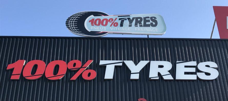 Nouveau – 100 % Tyres  : pneus, vitrage et freinage à Mantes-la-Ville