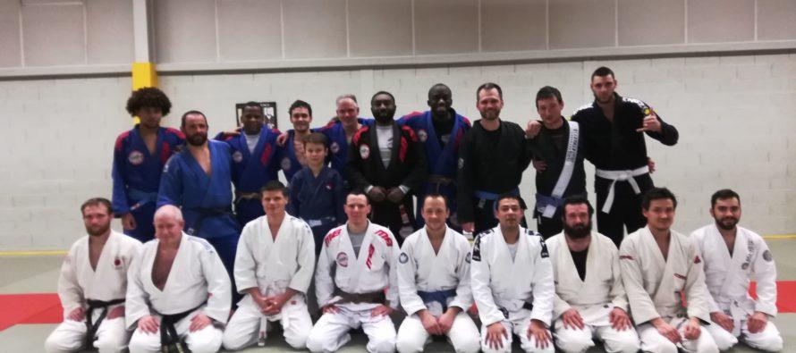 MB Academy : le Jiu-Jitsu enseigné à des gendarmes de Corrèze