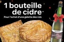 Boulangerie Ange Mantes : 1 galette achetée = 1 bouteille de cidre offerte