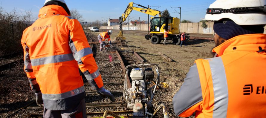 Métiers Ferroviaires : une nouvelle plateforme de formation à Aubergenville