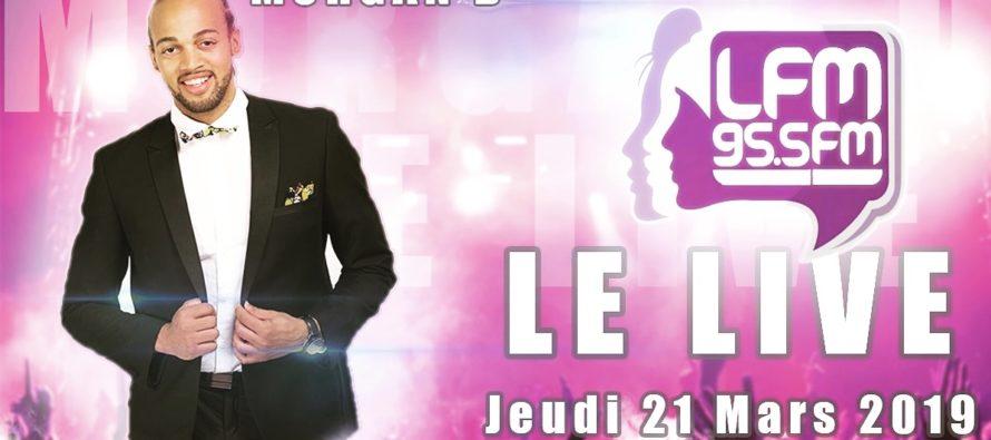Mantes-la-Jolie : l'artiste Morgan.D en live sur LFM Radio le 21 mars à 18h