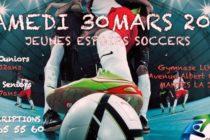 Mantes-la-Jolie : assistez au tournoi de foot «Jeunes Espoirs Soccer» le 30 mars