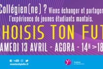 Choisis Ton Futur : échanges étudiants-collégiens à Mantes-la-Jolie le 13 avril