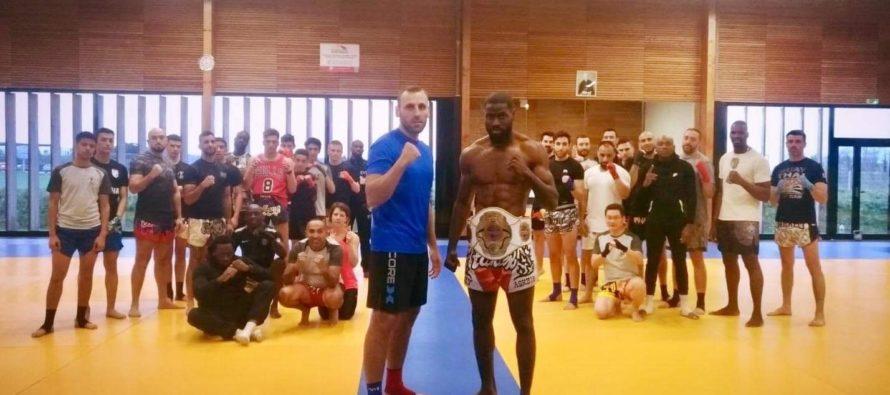 Combat : un champion d'Europe professionnel de K1 à Buchelay