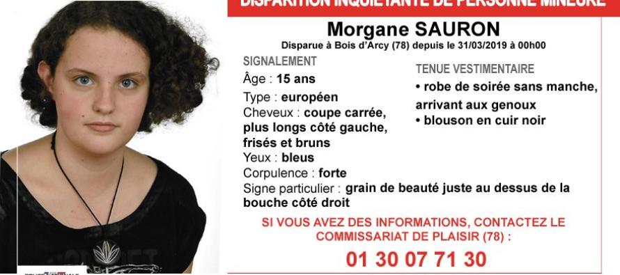 Yvelines : appel à témoins après la disparition de Morgane Sauron