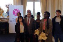 Laïcité : des élèves du collège Pasteur de Mantes-la-Jolie reçus au Conseil Départemental