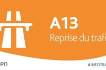 A13 Mantes-Paris : réouverture de l'autoroute après l'accident à Saint-Cloud