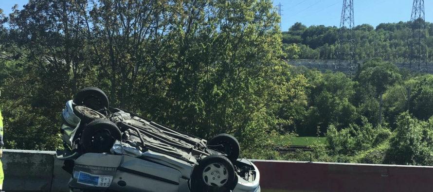 L'A13 bouchée en direction de Paris après un accident à Porcheville