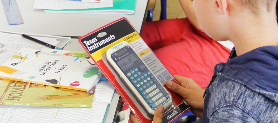 Magnanville : la ville va offrir des calculatrices aux futurs élèves de 6ème
