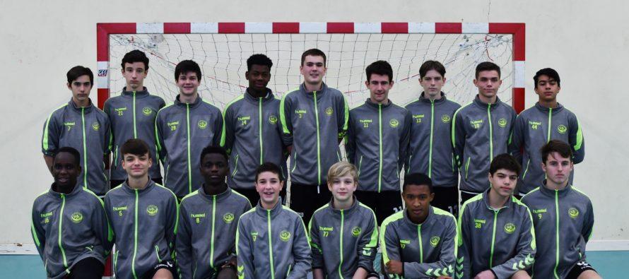 Handball Ouest Yvelines : les U15 en finale élite Ile-de-France