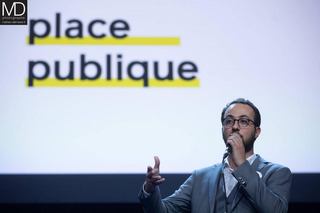 Saïd Benmouffok, philosophe, co-fondateur de Place publique et conseiller municipal de Mantes-la-Ville