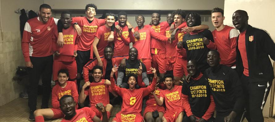 Foot : champion en U17 R1, le FC Mantois accède au Championnat National