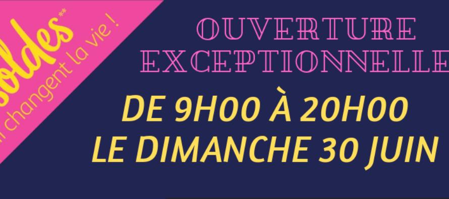 Auchan Mantes-Buchelay : ouverture exceptionnelle dimanche 30 juin de 9h à 20h