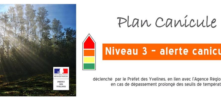 Yvelines : le préfet déclenche le plan canicule niveau 3