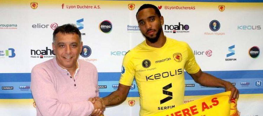 Foot – Mercato : Matthieu Geran signe à Lyon-Duchère (National 1)