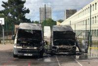 Mantes-la-Jolie : deux camions de commerçants du marché du Val Fourré incendiés