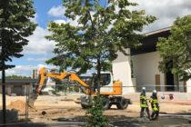 Mantes-la-Jolie : importante fuite de gaz sur un chantier près de La Poste du Val Fourré