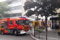 Mantes-la-Jolie : embouteillages dans le centre-ville après un incendie dans un appartement