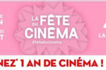 Fête du Cinéma : 4 € la séance au CGR de Mantes du 30 juin au 3 juillet 2019