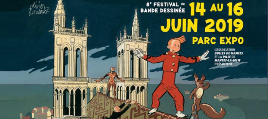 Festival Bulles de Mantes : un des dessinateurs de Spirou invité d'honneur