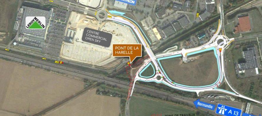 Buchelay : le pont de la Harelle définitivement fermé aux véhicules