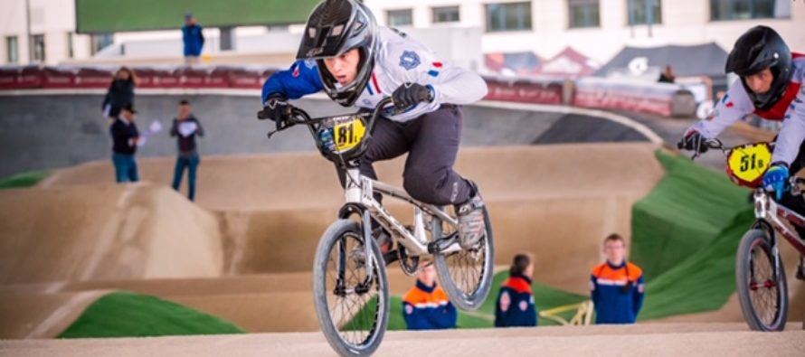 Guernes : Ilan Lefebvre, 16 ans, aux championnats du monde de BMX