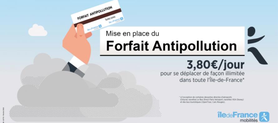 SNCF – Ile-de-France : profitez du forfait journalier anti-pollution à 3,80 € le 23 juillet
