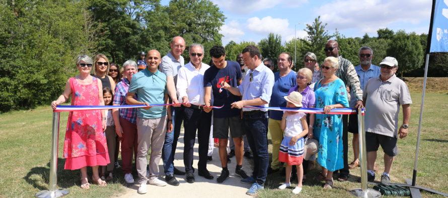 Mantes-la-Jolie : les nouveaux aménagements des lacs de Gassicourt et des Pêcheurs inaugurés
