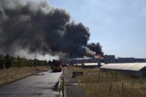 Yvelines : incendie important à l'usine de traitement des eaux d'Achères