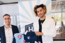 Foot – Ligue 2 – Le Havre : à 16 ans, Meddah Daylam signe un contrat pro de 3 ans