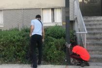 Mantes-la-Jolie : des habitants du Val Fourré ramassent des déchets dans le quartier