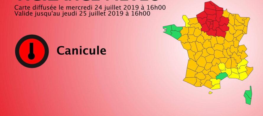 Canicule : le département des Yvelines placé en vigilance rouge