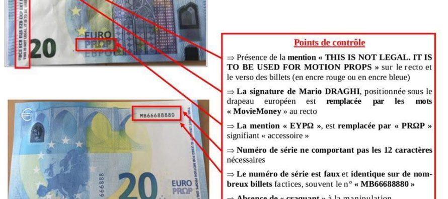 Économie : attention aux faux billets qui circulent en France