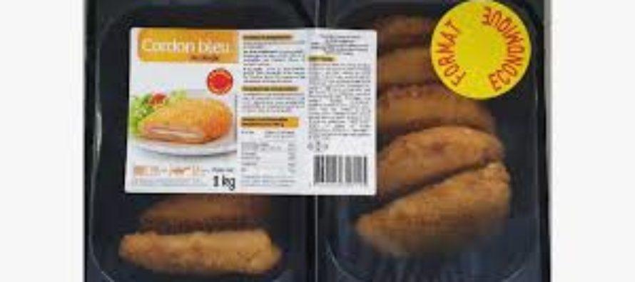 Intermarché – Netto : attention aux cordons bleus contaminés à la salmonelle