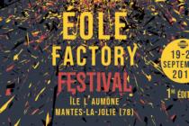 Mantes-la-Jolie – Éole Factory Festival : 14 concerts dont 7 en accès libre du 19 au 21 septembre