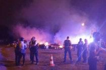 Buchelay : le camp des «Gilets Jaunes» prend feu