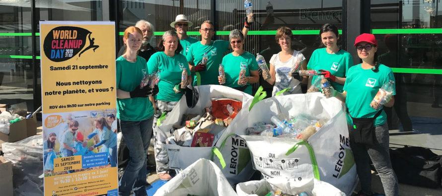 Le Mantois en Transition : 350 kg de déchets ramassés à Buchelay