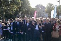 Mantes-la-Jolie / Limay : la grande passerelle a été inaugurée en présence de 400 personnes