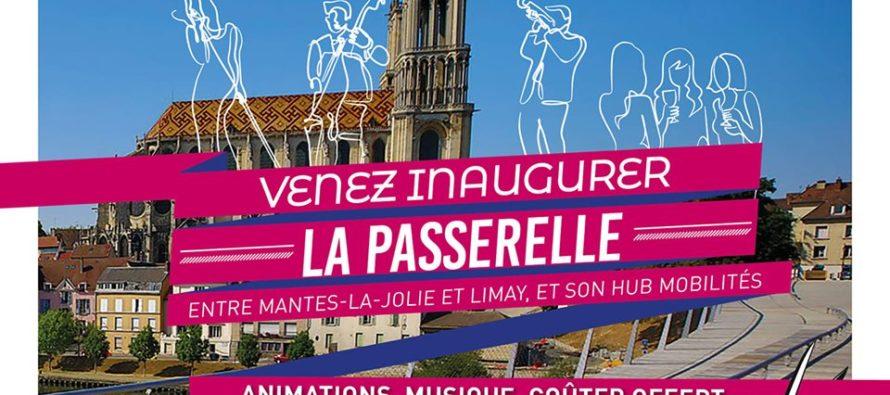 Cadre de Vie : inauguration de la passerelle Mantes/Limay le 20 septembre