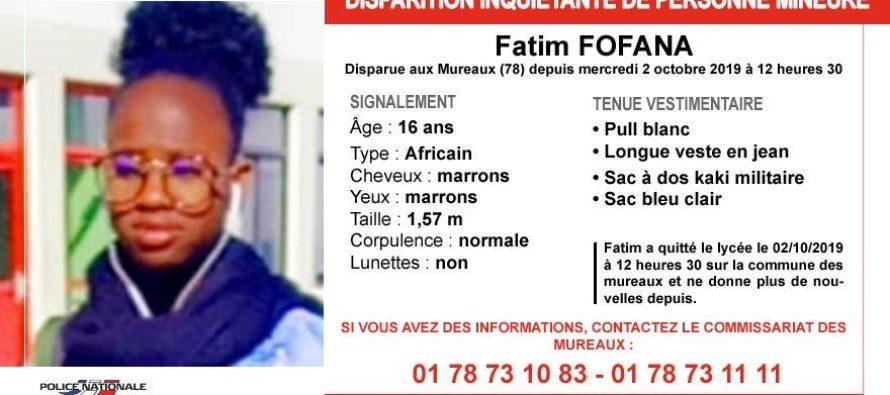 Les Mureaux : appel à témoins après la disparition de Fatim Fofana, 16 ans