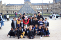 Mantes-la-Jolie : 30 enfants du Sport Attitude 78 visitent le Musée du Louvre