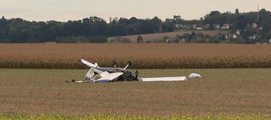 Jumeauville : deux morts après le crash d'un petit avion