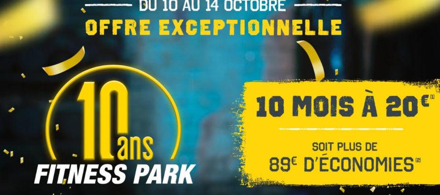 Buchelay 10 Ans Fitness Park Profitez De L Offre A 20 Mois