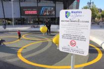 Mantes-la-Jolie : une nouvelle aire de jeux pour enfants devant le cinéma CGR