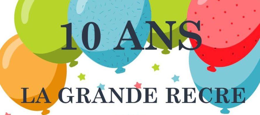 Buchelay – La Grande Récré : promotions et animations pour le 10ème anniversaire le 5 octobre