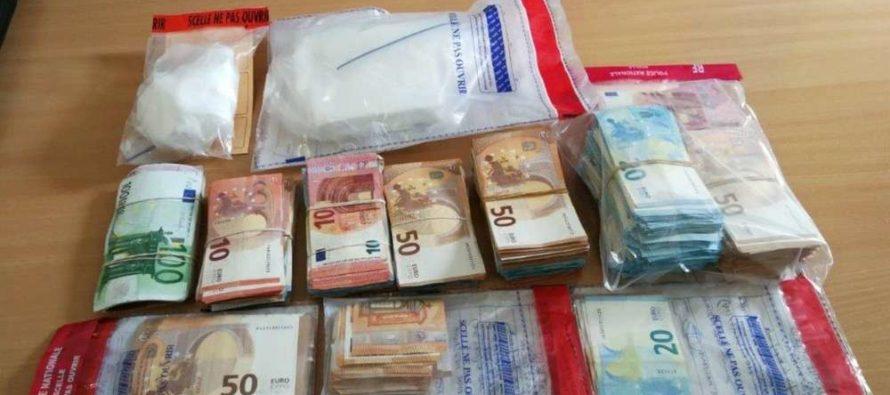 Limay : de la cocaïne et 163 440 euros saisis après une perquisition