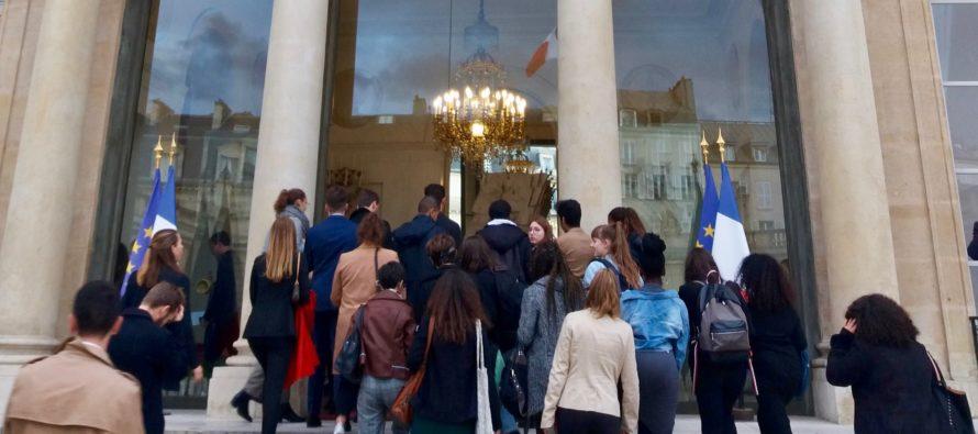 Mantes-la-Jolie : 35 élèves du lycée Saint-Exupéry invités à l'Élysée