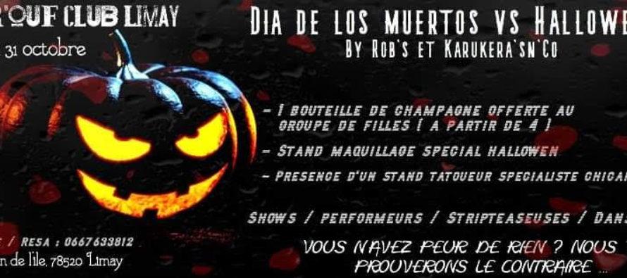 Limay – Bar'ouf Club : fêtez Halloween avec Karukera'sn'Co et Rob's le 31 octobre
