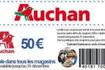 Économie – Auchan : un faux coupon de réduction de 50€ circule sur Facebook